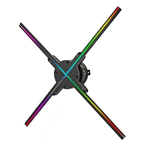 DDT 3D Hologramm Projektor WiFi Tragbare LED Holographic Fan Video-Beamer HD 1080P Auflösung Visuelle Werbung Display Unterstützt MP4 / AVI/RMVB/MKV/GIF/JPG/PNG