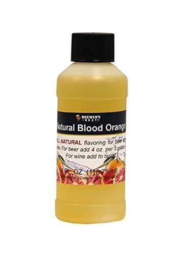 Brewer's Best Natural Beer and Wine Fruit Flavoring (Blood Orange)