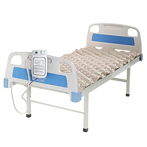 JuZi Store Wechseldruckmatratze mit Kompressor Aufblasbare Anti Dekubitus Luftmatratze Matratze for medizinisches Bett Dekubitus und Dekubitus Relief