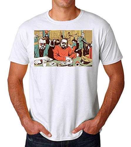 KRISSY Reservoir Dogs Movie Tarantino Big Lebowski Men's T-Shirt Maglietta Medium
