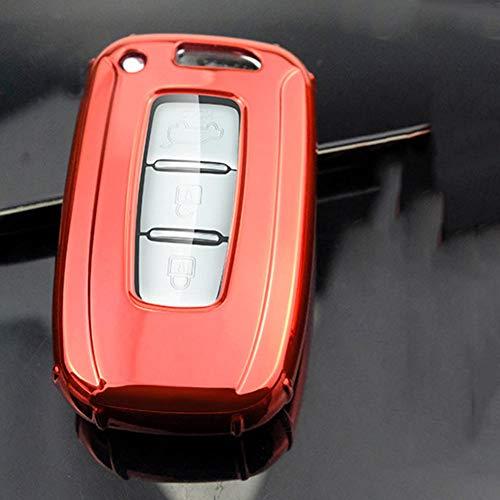 HJPOQZ Funda para Llave De Coche, para Hyundai Solaris Hb20 Veloster Sr Ix35 Accent Elantra I3O, para Kia K2 K3 Rio Sportage
