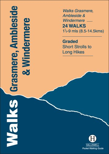 Walks Grasmere, Ambleside and Windermere (Hallewell Pocket Walking Guides)