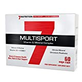 7Nutrition Multisport Vitamin & Mineral Complex | 60 Vege Caps | Brain & Immune Health | Skin, Nails & Hair Support | 1 Month Supply