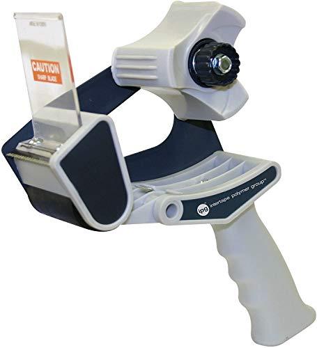 "IPG 1969 2"" Medium Grade Carton Sealing Hand Tape Dispenser with Pistol Grip and Tension Brake, (24-Pack)"