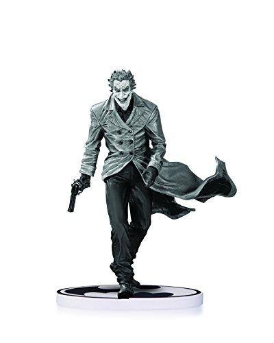 DC Collectibles Batman Black and White Joker by Lee Bermejo Second Edition Statue