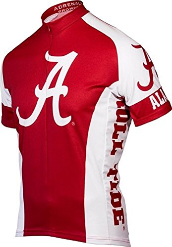 Adrenaline Promotions Alabama Cycling Jersey (Large) Crimson