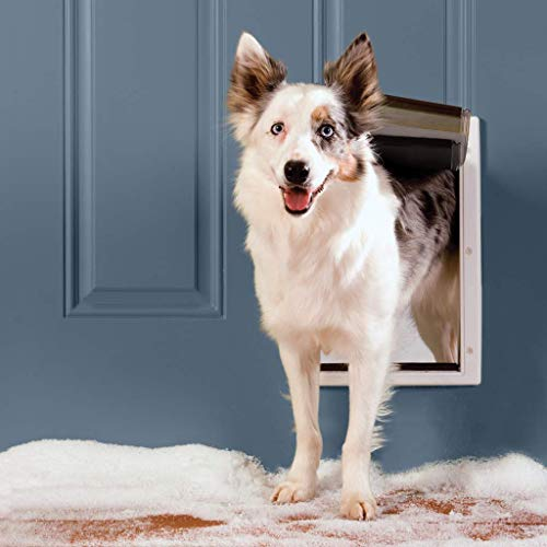 PetSafe Extreme Weather Pet Door for Cats and Dogs – 3-Flaps for Added Insulation – Medium Pets