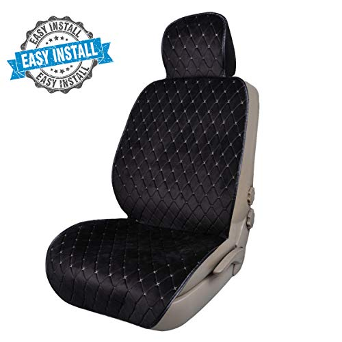 CAR PASS Full Cover Quilting Sideless Universal fit Car Seat Cover,seat Cushion, Easy fit with...