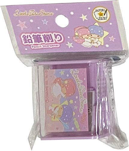 Sanrio Little New item Twin Stars Pencil sharpener Popular products Holes 2 for Standard a