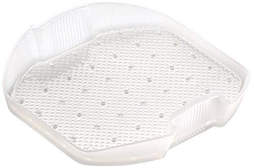 Lékué - Bandeja multifunción de silicona, 3-4 personas, translúcido