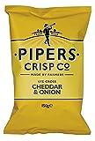 Patatine Cheddar & Onion 150g PIPERS CRISP LYE