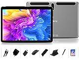 Tablet 10 Pulgadas Android 10.0 - MEBERRY Ultrar-Rápido Tableta 4GB RAM+64GB ROM - Certificación Google GMS - Octa-Core | 8000mAh | WI-FI | Bluetooth | GPS | Type-C (5.0+8.0 MP Cámara) - Gris