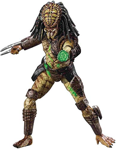 Hiya Toys Predator 2 Battle Damage City Hunter Exquisite Mini 1/18 Scale Action Figur