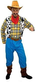 DISBACANAL Disfraz Woody Vaquero para Adulto - -, XL: Amazon.es ...