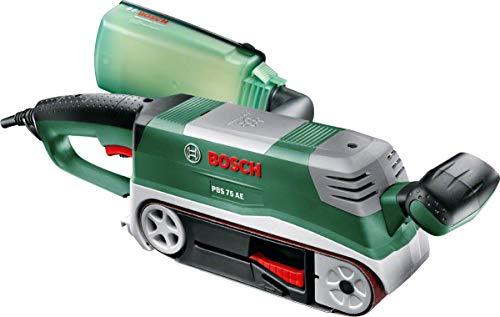 Bosch PBS 75 AE - Lijadora de banda (750 W, maletín)