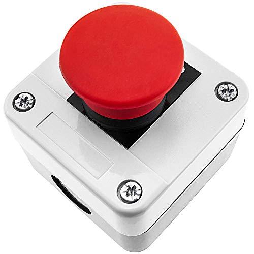 BeMatik - Steuerung Kontrolle Station Kasten mit Taste Druckknopf und Notstopp ohne Blockierung NC Stop
