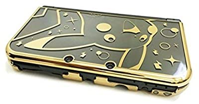 HORI Pikachu Premium Gold Protector for New Nintendo 3DS XL Officially Licensed by Nintendo & Pokemon