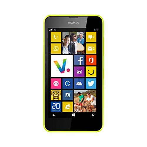 Nokia Lumia 635Smartphone entsperrt 4g 11,4cm (: 4,5Zoll–8GB–einfach Micro-SIM–Windows Phone 8.1)