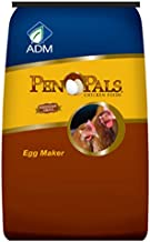 Adm Alliance Nutrition 70010Aaa24 Pen Pals Chicken Feed, Egg Maker, Non-Medicated, Pellet, 50-Lbs. Farm Feed