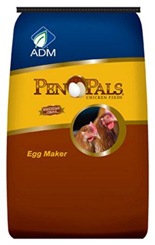 ADM ANIMAL NUTRITION Pen Pals Chicken Feed, Egg Maker, Non-Medicated,...