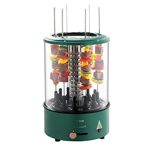 LYGID Máquina De Barbacoa De Interior Barbacoa Eléctrica para El Hogar Rotación Automática De 100W No Fumar Temperatura Constante Inteligente
