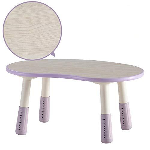Reeamy-Home Table pour Enfants Enfants Table, Bureau d'activité Nursery Table Multifonction en Bois, Lisses, Stable et Durable, Unisexe Cadeau for l'anniversaire de Table étudiant