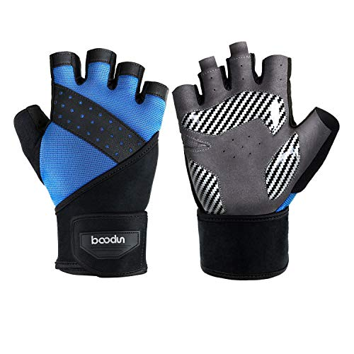 Fitness Handschuhe Gewichtheben Trainingshandschuhe für Damen und Herren krafttraining Workout Gloves klimmzug Gym Sporthandschuhe Bodybuilding