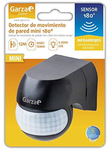Garza Power - Detector de Movimiento Infrarrojos Mini de Pared,...