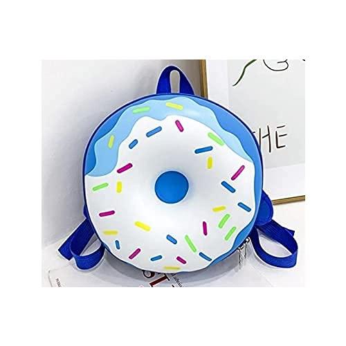 Forma bl Donuts Bolsa de Libros de niños Escuela de los niños de Dibujos Animados Bolsas Mochilas Cuero PU Precioso jardín de Infancia Bagpack taleguilla Ronda de Mochila