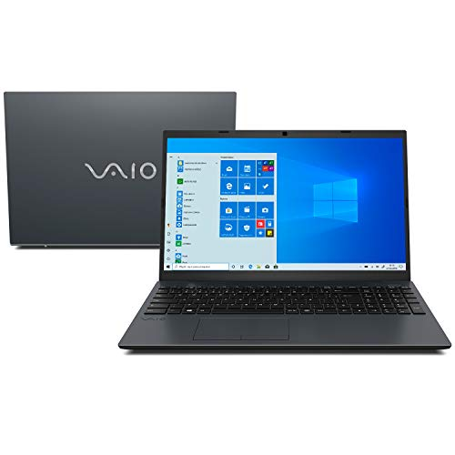 "Notebook Vaio FE15, Intel Core i7, 8GB RAM, SSD 256GB, Tela 15.6"" LCD HD, Windows 10 - Chumbo Escuro"