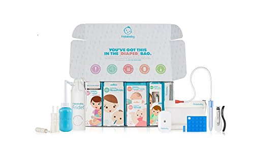 Frida Baby Big Bundle of Joy Includes NoseFrida, Windi and Other Baby Essentials for New Parents