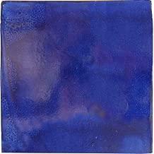 2x2 36 pcs Cobalt Blue Talavera Mexican Tile