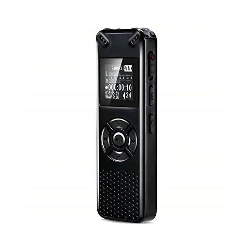 LORIEL Mini Grabadora De Voz Digital, Altavoz De Alta Fidelidad Incorporado/Grabadora De Alta Definición, Grabación Telefónica De Audio De Sonido HD HD Portátil,32gb