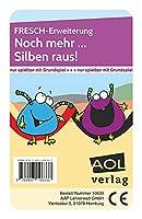 FRESCH-Erweiterung: Noch mehr... Silben raus!: Ergänzungskarten für das LRS-Lernspiel zum Fes tigen und Vertiefen der Strategie Schwingen (1. bis 4. Klasse)