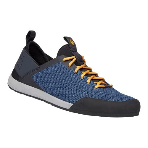 Black Diamond Equipment - Men's Session Climbing Shoes - Eclipse Blue/Amber - Size 10.5
