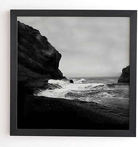 Deny Designs Very popular Leah Flores Black Framed 30