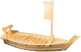 Asian Home Natural Bamboo Sushi Tray Boat