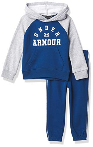 Under Armour Boys' UA Raglan P.E. Set, Graphite Blue, 2T