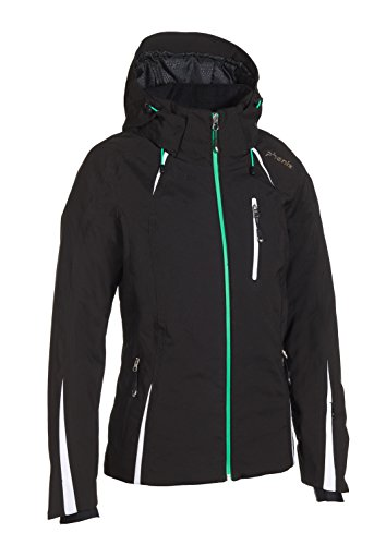 Phenix Damen Orca Jacket Skijacke, Black, 40