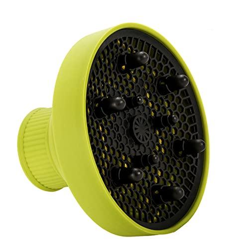 Diffusore Universale Silicone Universale Pieghevole Ventilatore Copertura Diffusore Portatile da Viaggio Diffusore Phon Universale per Asciugacapelli e Capelli Ricci con Diametro Esterno di 4-6 cm
