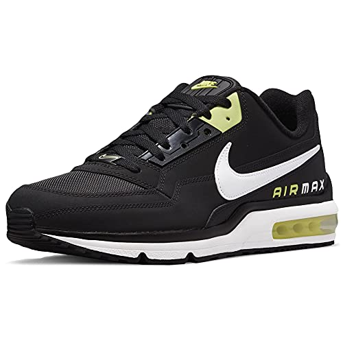 Nike Herren Air Max Ltd 3 Laufschuh, Schwarz Weiß Gelb, 44 EU