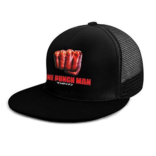 One Punch Man Baseball Cap Fashion Hip Hop Anime Theme Solid Flat Bill Not Deformed Adjustable Snapback Hats Unisex Sun Caps