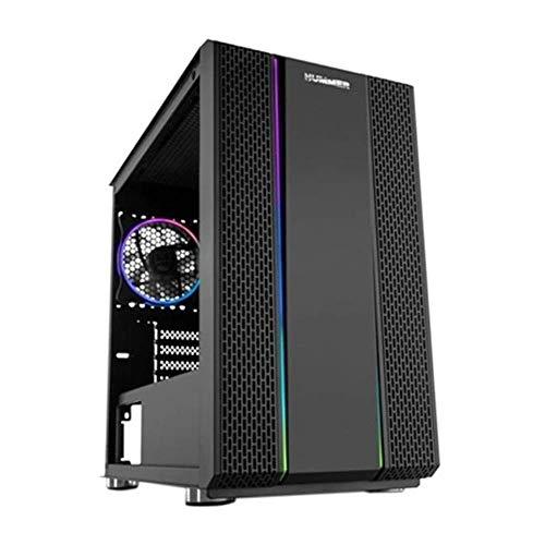 NOX, Mini box per Micro ATX/ITX Hummer Fusion RGB LED Ne Gramos o (BIG-S0224778)