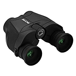 commercial 12×25 HD compact binoculars for adults, children, long, soft, light pupils and small prism Bak4 … good small binoculars