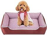 Cama de mascotas Cama para perros para mascotas para gatos y pequeños perros medianos CALIENTE DE PERRITO CON LABLEABLE...