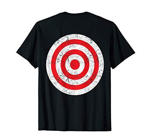 (Print on Back) Retro Bullseye Targ…