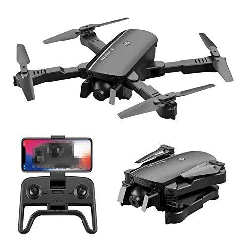 ZHCJH Drone con cámara 4K, posicionamiento de Flujo óptico Cámaras duales Smart Follow WiFi Drone con cámara HD de Gran Angular Ajustable 4K remota, Plegable para Adultos Principiantes