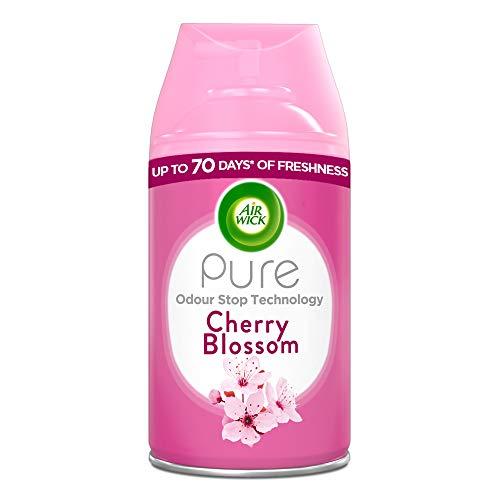 Air Wick Air Freshener, Freshmatic Pure Auto Spray, Cherry Blossom, Refill 250 ml, Pack of 1