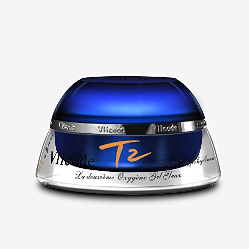 VIIcode T2O3.0 oxygen Eye Cream for Wrinkles, Dark Circles, Puffiness & Bags. 0.5 Oz