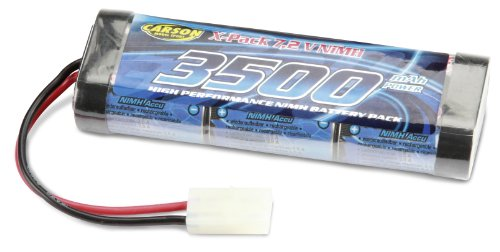 Carson - 608024 - Batterie 7,2V NIMH 3500 MAH Tamiya Plug